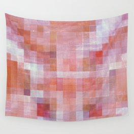 Berry Plaid Wall Tapestry