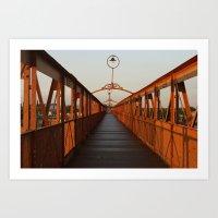 Bridge Pergamino Argentina Art Print