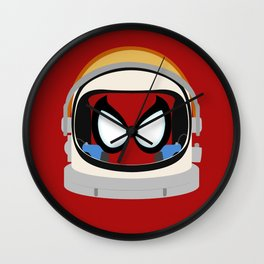 Spidey-Naut Wall Clock