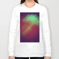 pixel Long Sleeve T-shirts featuring Jelly Pixel by Katie Troisi