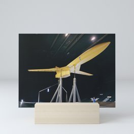SCAT-16 Variable Sweep Model in 40x80 Wind Tunnel at NASA Ames 34 view of model in cruise configurat Mini Art Print
