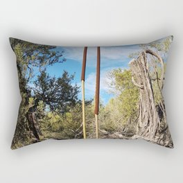 Get Out There Rectangular Pillow