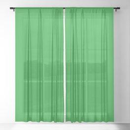 GREEN GREEN Sheer Curtain
