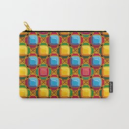 Pattern with diamonds Carry-All Pouch