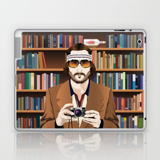 Richie Tenenbaum Laptop & iPad Skin