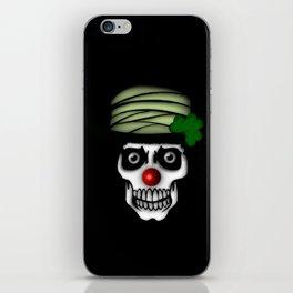 Irish Clown Skeleton iPhone Skin