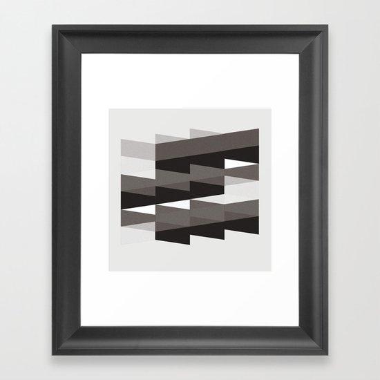 Aronde Pattern #02 Framed Art Print