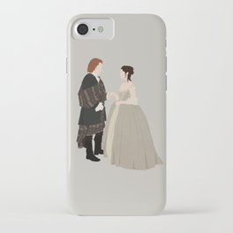 Outlander, Jamie and Claire iPhone Case