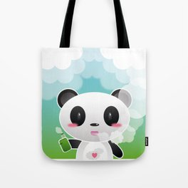 Vapers are Welcome (panda edition) Tote Bag
