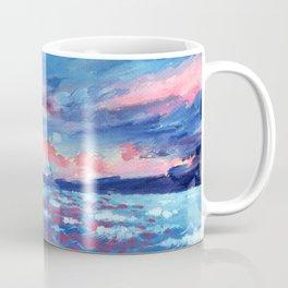 Sea Storm Oil Canvas Coffee Mug