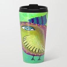 Quirky Bird 4 Travel Mug