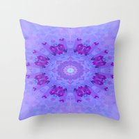 lavender Throw Pillows featuring Lavender... by Cherie DeBevoise