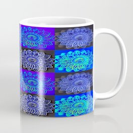 Many Blue Stars Coffee Mug