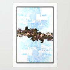 Landscapes c8 (35mm Double Exposure) Art Print
