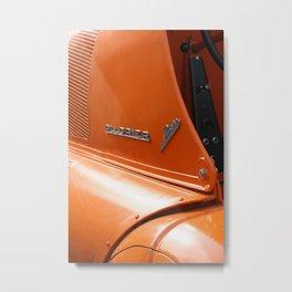 Allgaier Porsche Metal Print