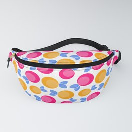 Pink and orange fruits Fanny Pack