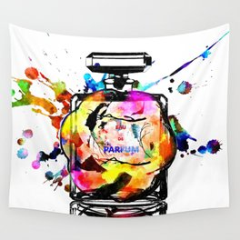 Parfum Rainbow Wall Tapestry