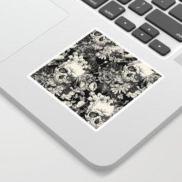 SKULLS HALLOWEEN SKULL Sticker