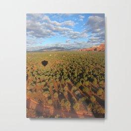 Sedona Ballooning Metal Print