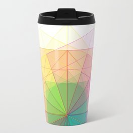 geometric abstract 1 Travel Mug