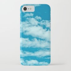 Beautiful blue sky and fluffy clouds iPhone 7 Slim Case