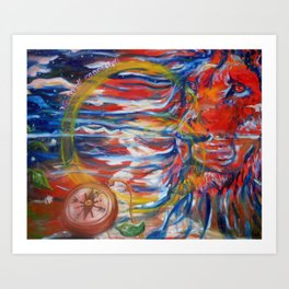 The Circle of Life Art Print