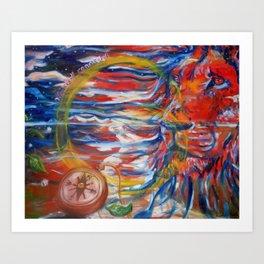 The Circle of Life Art Print
