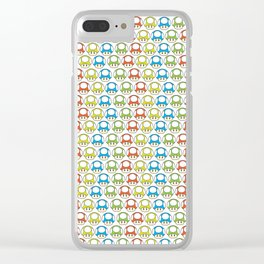 Shrooming Clear iPhone Case