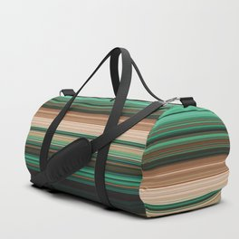Striking Forest Gold Duffle Bag