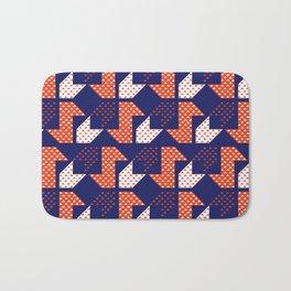 Clover&Nessie Denim/Apple Bath Mat