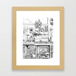 The Modern Witch's Studio Framed Art Print
