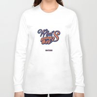 hiphop Long Sleeve T-shirts featuring HipHop Anthem : Eric B & Rakim by Lbert