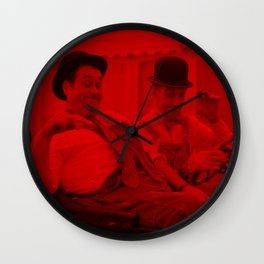 Laurel and Hardy - Celebrity (Photographic Art) Wall Clock