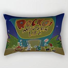 Rocko And The Crew Rectangular Pillow