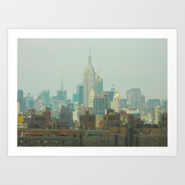 New York City Skyline Photograph Art Print
