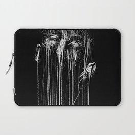Silence | oil pastel on paper, 20x30cm Laptop Sleeve