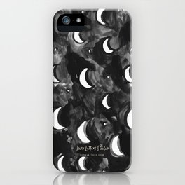 Many Moons iPhone Case