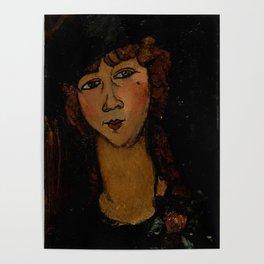 """Amedeo Modigliani """"Lolotte"""" Poster"""