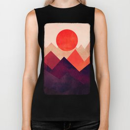 Touched By The Sun Biker Tank
