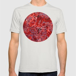 Marble Ruby Sapphire Violet T-shirt
