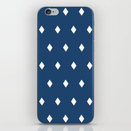 Diamonds on Aegean Sea iPhone Skin