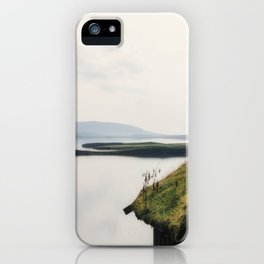 Fairy Dust - Moss Covered Tiny House Iceland iPhone Case