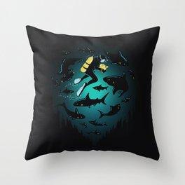 Screwed Throw Pillow