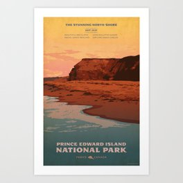 Prince Edward Island National Park Art Print