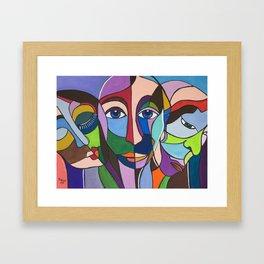 Siblings Framed Art Print