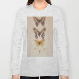 Change ... from caterpillars to butterflies Long Sleeve T-shirt