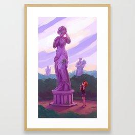 Pedestals Framed Art Print