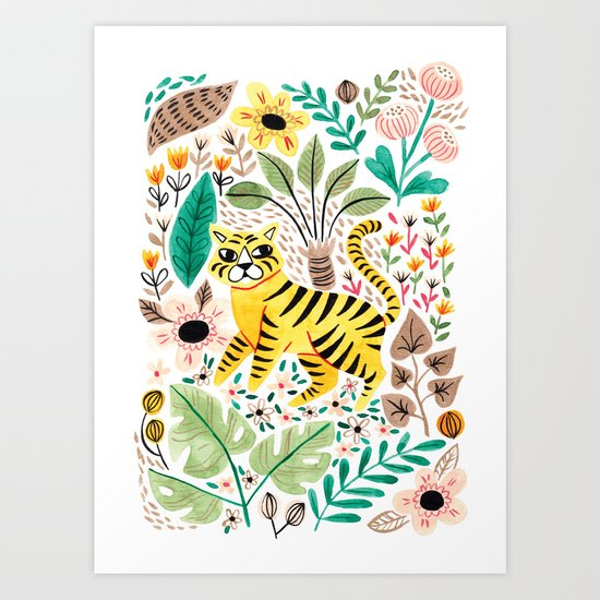 Tiger Jungle by vanhuynh
