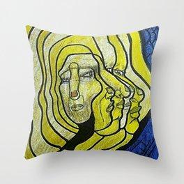 METAMORFOSIS Throw Pillow