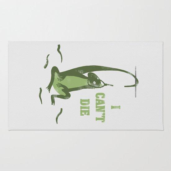 lizard tail  Rug